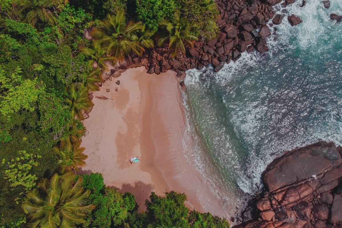 Praia do Português em Ubatuba