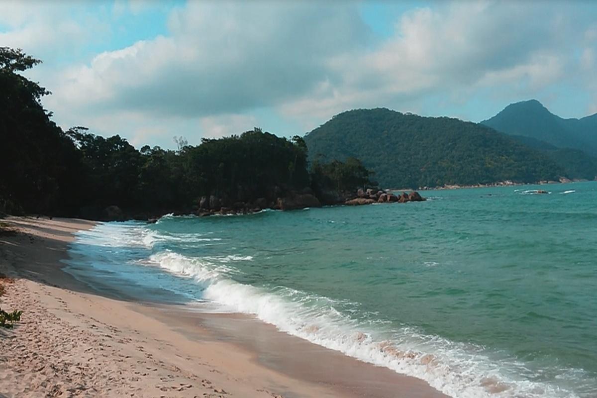 Praia Brava do Sul em Ubatuba