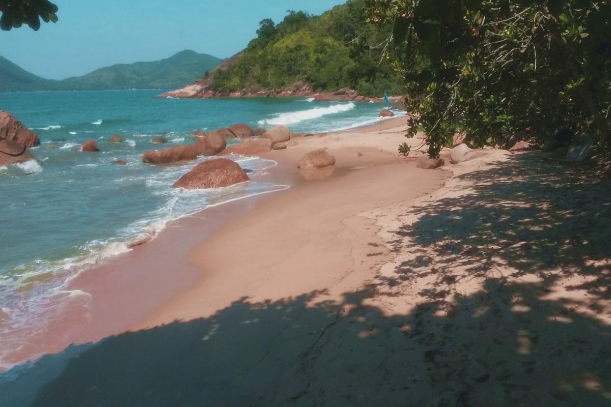 Praia de Itapecerica em Ubatuba